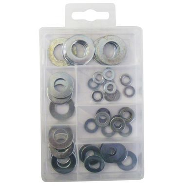 WOT-NOTS Flat Washers - Pack of 50