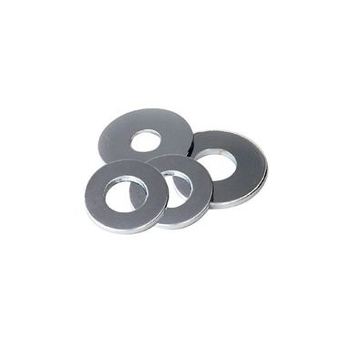 WOT-NOTS Steel Washer - Flat - 3/8in. - Pack Of 15