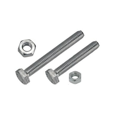 WOT-NOTS Set Screw & Nut - 2 x 5/16in. UNF - Pack of 2