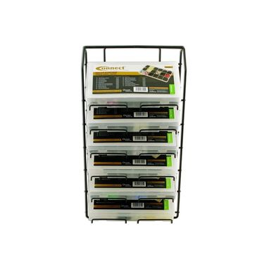 CONNECT Display Rack For Assorted Trim Clips - 6 Tier