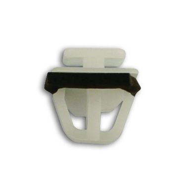 CONNECT Moulding Clips - White/Black - Kia - Pack Of 10