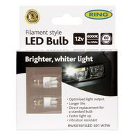 RING Filament Style LED - W5W 12V - Amber