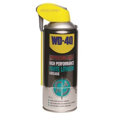 WD40 WD40 Specialist White Lithium Grease - 400ml