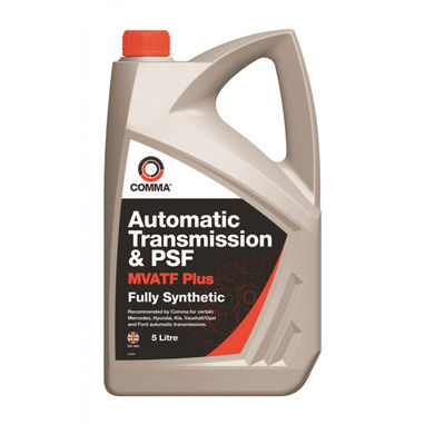 COMMA Multi-Vehicle Automatic Transmission & Power Steering Fluid - 5 Litre