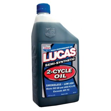 LUCAS OIL Semi-Synthetic 2 Cycle Oil - 946ml