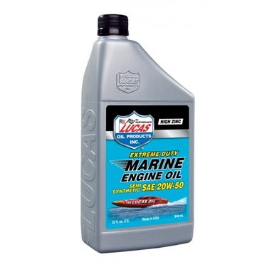LUCAS OIL Marine Semi-Synthetic SAE 20W50 946ml