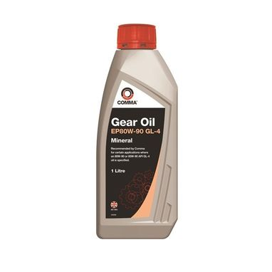 COMMA EP80W-90 GL-4 Gear Oil - 1 Litre