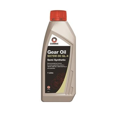 COMMA SX75W-90 High Performance Gear Oil - 1 Litre