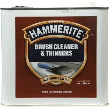 HAMMERITE Brush Cleaner & Thinners - 2.5 Litre