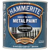 HAMMERITE Direct To Rust Metal Paint - Hammered Black - 2.5 Litre