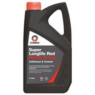 COMMA Super Longlife Antifreeze & Coolant - Ready To Use - 2 Litre