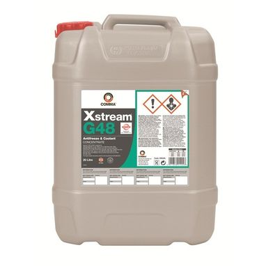 COMMA Xstream G48 Antifreeze & Coolant - Concentrated - 20 Litre
