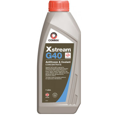 COMMA Xstream G40 Concentrated Antifreeze & Coolant - 1 litre