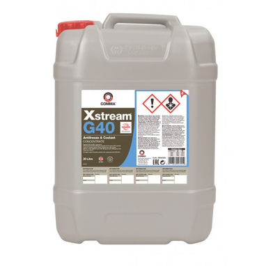 COMMA Xstream G40 Concentrated Antifreeze & Coolant - 20 litre