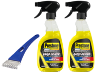 Prestone Trigger De-Icer Winter Kit 2 x 500ml & 1 Ice Scraper