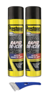 Prestone Aerosol De-Icer Winter Kit 2 x 600ml & 1 Ice Scraper