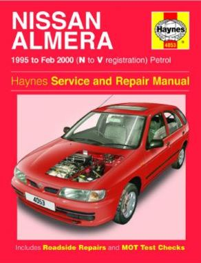 Nissan Almera Petrol (95 - Feb 00) N to V