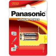 PANASONIC CR123A 3V Lithium Battery - Box of 10