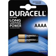 DURACELL AAAA Batteries - Pack of 2