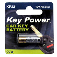 KEYPOWER Coin Cell Battery 27A - Alkaline 12V