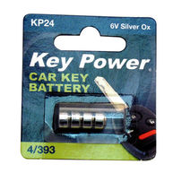 KEYPOWER Coin Cell Battery 4/393 - Silver Oxide 6V
