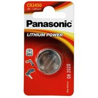 PANASONIC Coin Cell Battery CR2450 - Lithium 3V