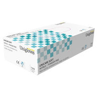 UNICARE Nitrile Powder Free Gloves - Small - Pack of 100