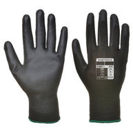 PORTWEST PU Palm Glove - Black  - Large - Pack of 12