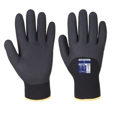 PORTWEST Arctic Winter Gloves - Black - X Large