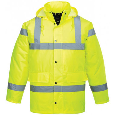PORTWEST Hi-Vis Traffic Jacket - Yellow - XX Large