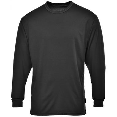 PORTWEST Thermal Base Layer Top - Black - Large