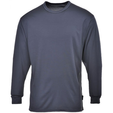 PORTWEST Thermal Base Layer Top - Charcoal - X Large