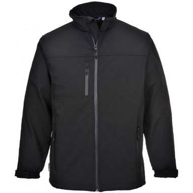 PORTWEST Softshell Jacket - Black - XX Large