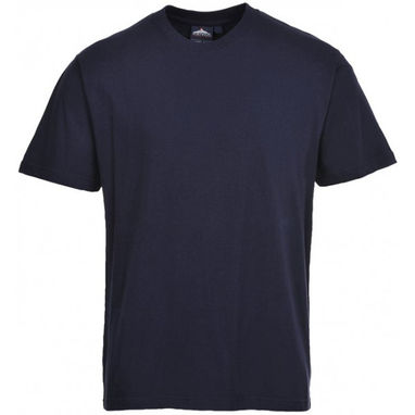 PORTWEST Turin Premium T-Shirt - Navy - Large