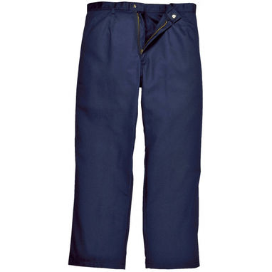 PORTWEST Bizweld Trousers - Navy - Small (Tall)