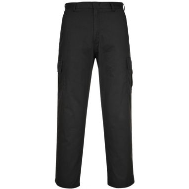 PORTWEST Combat Trousers - Black - 28in. Waist (Regular)