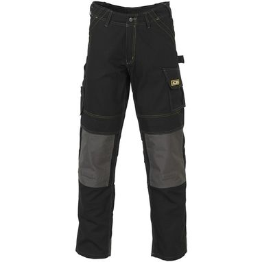 JCB Cheadle Pro Trousers - Black - 30in. Waist (Tall)