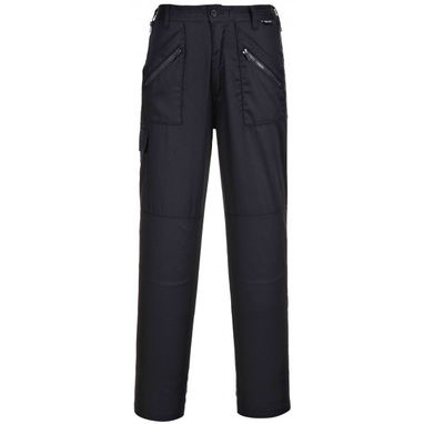 PORTWEST Ladies Action Trousers - Black - Small