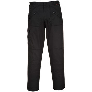 PORTWEST Action Trousers - Black - 44in. Waist (Regular)