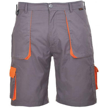 PORTWEST Texo Contrast Shorts - Charcoal - Large