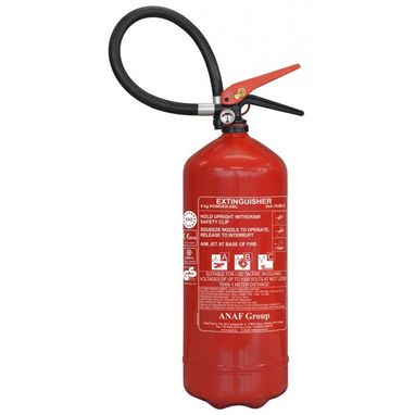 ANAF ABC Dry Powder Fire Extinguisher with Gauge - 6kg