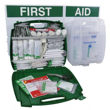 SAFETY FIRST AID BS Compliant Large Eyewash & First Aid Point