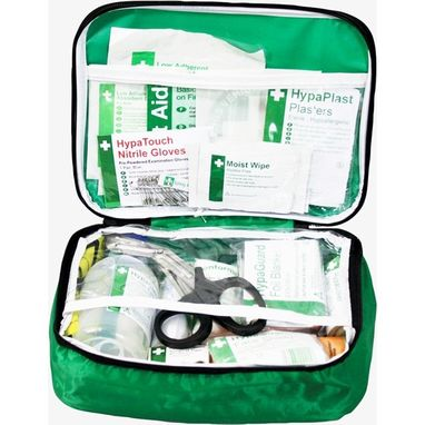 SAFETY FIRST AID Vehicle First Aid Kit in Nylon Case