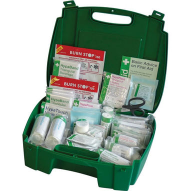 SAFETY FIRST AID BS Compliant Workplace First Aid Kit in Evolution Box - Large