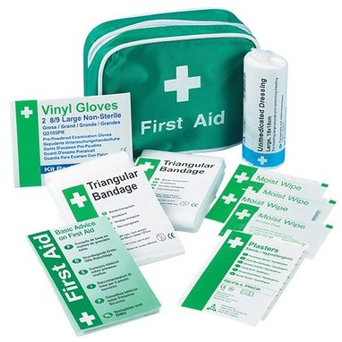 SAFETY FIRST AID Travel First Aid Kit in Nylon Case - 1 Person