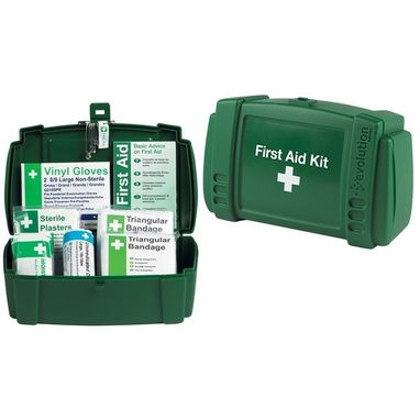 SAFETY FIRST AID Travel First Aid Kit in Plastic Case - 1 Person