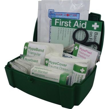 SAFETY FIRST AID Vehicle First Aid Kit in Evolution Box - Medium