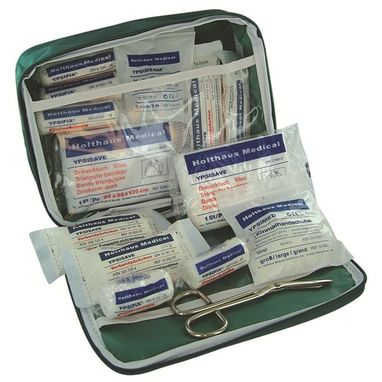 SAFETY FIRST AID DIN Vehicle First Aid Kit in Nylon Case