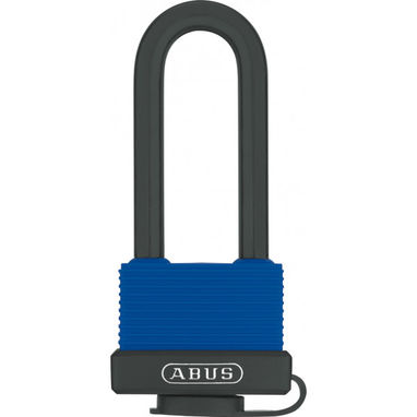ABUS Weatherproof Padlock - Brass - 45mm - Long Shackle