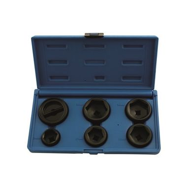 LASER Oil Filter Socket Set - 6 Piece